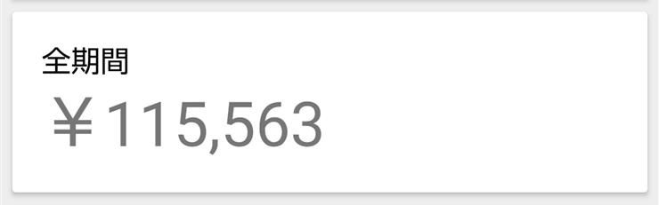 Google AdSense(アドセンス)報酬全期間累計10万円を突破