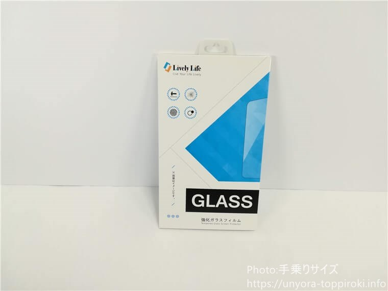 OPPO RENO5 Aと同時購入したガラスシート